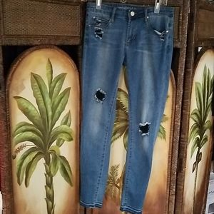 Articles of Society distressed skinny jeans